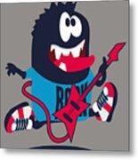 Rock, Rocker  Monster Metal Print