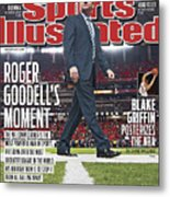 Roger Goodells Moment Sports Illustrated Cover Metal Print
