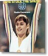 Romania Nadia Comaneci, 1976 Summer Olympics Sports Illustrated Cover Metal Print