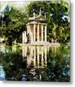 Rome, Ancient Temple Of Aesculapius - 04 Metal Print