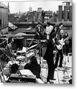 Rooftop Beatles Metal Print