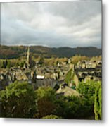 Rooftops Of Ambleside In Early Morning In The Lake District Metal Print