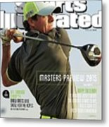 Rorys Moment 2014 British Open Sports Illustrated Cover Metal Print