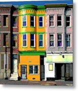 Row Houses Baltimore Metal Print