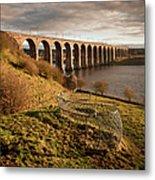 Royal Border Bridge, Berwick-upon-tweed Metal Print