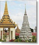 Royal Palace In Phnom Penh, Cambodia Metal Print