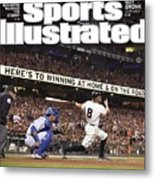 Royals Vs. Giants The Future Classic Sports Illustrated Cover Metal Print