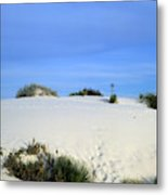 Rrippled Sand Dunes In White Sands National Monument, New Mexico - Newm500 00111 Metal Print