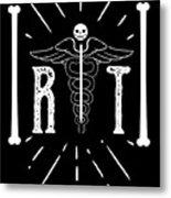 Rt Radiology Bones Medicine Radiologist Nurse Metal Print