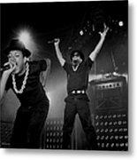 Run Dmc Live In Concert Metal Print