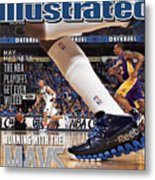 Running With The Mavs How Dallas Took Down The Mighty Lakers Sports Illustrated Cover Metal Print