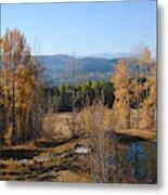 Rural Montana Metal Print