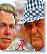 Saban And Bear Metal Print