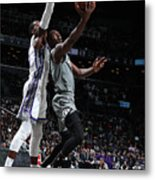Sacramento Kings V Brooklyn Nets Metal Print
