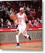 Sacramento Kings V Houston Rockets Metal Print