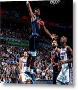 Sacramento Kings V Oklahoma City Thunder Metal Print