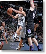 Sacramento Kings V San Antonio Spurs Metal Print