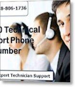 Sage Customer Support Number Usa  Metal Print