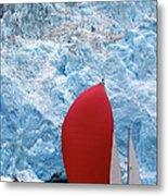 Sailboat Prince William Sound Alaska Metal Print