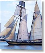 Sailing With Pride Metal Print