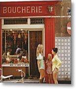 Saint-tropez Boucherie Metal Print