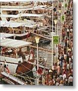 Saint-tropez Seafront Metal Print