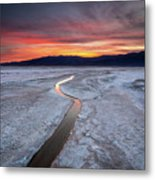 Salt Creek Flats Metal Print