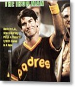 San Diego Padres Steve Garvey Sports Illustrated Cover Metal Print