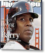San Francisco Giants Barry Bonds Sports Illustrated Cover Metal Print