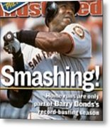 San Francisco Giants Barry Bonds... Sports Illustrated Cover Metal Print