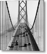 San Francisco-oakland Bay Bridge Metal Print