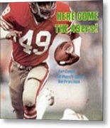 San Fransisco 49ers Earl Cooper Sports Illustrated Cover Metal Print