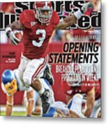 San Jose State V Alabama Sports Illustrated Cover Metal Print