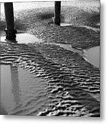 Sand Shadows Metal Print