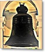 Savannah Exchange Bell Metal Print