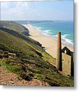 Scenic Cornwall - St Agnes Head Metal Print