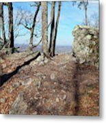 Scenic Horizon View Metal Print