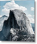Scenic View Of Rock Formations, Half Metal Print