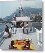 Scottis Yacht Metal Print