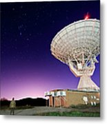 Search For Extraterrestials Metal Print