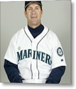 Seattle Mariners Headshots Metal Print
