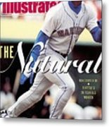 Seattle Mariners Ken Griffey Jr... Sports Illustrated Cover Metal Print