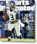 Seattle Seahawks Heavy Lies The Crown Sports Illustrated Cover Metal Print
