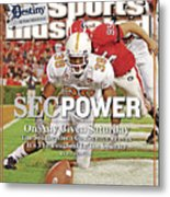 Sec Power On Any Given Saturday The Southeastern Conference Sports Illustrated Cover Metal Print