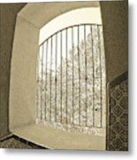 Sedona Series - Through The Window Metal Print