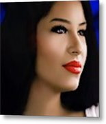 Selena Forever In Our Hearts Metal Print