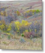 September Perfection On The Western Edge Metal Print