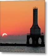 September Sunrise In Port Washington 1 Metal Print