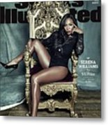 Serena Williams, 2015 Sportsperson Of The Year Sports Illustrated Cover Metal Print