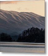 Serenity On The Water Metal Print